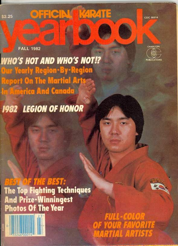 Fall 1982 Official Karate Yearbook