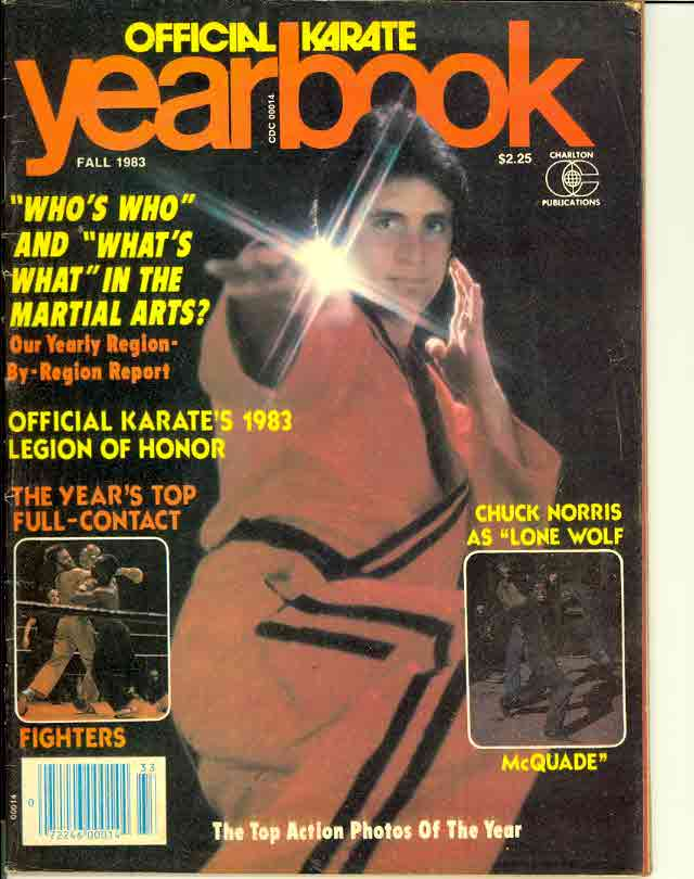 Fall 1983 Official Karate Yearbook
