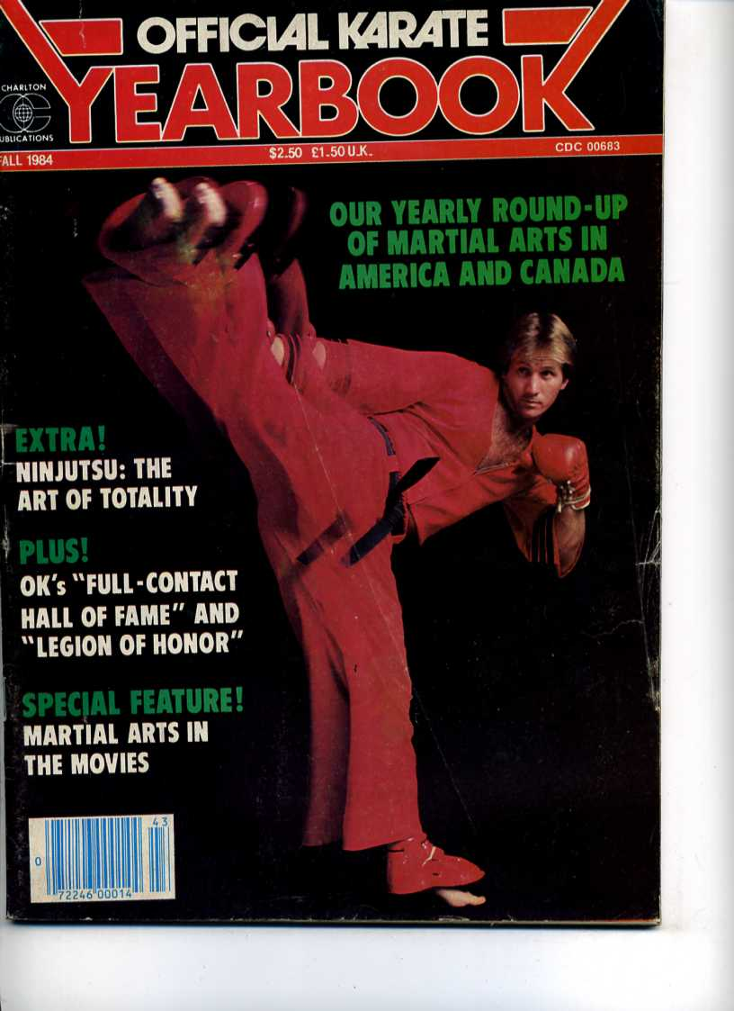 Fall 1984 Official Karate Yearbook