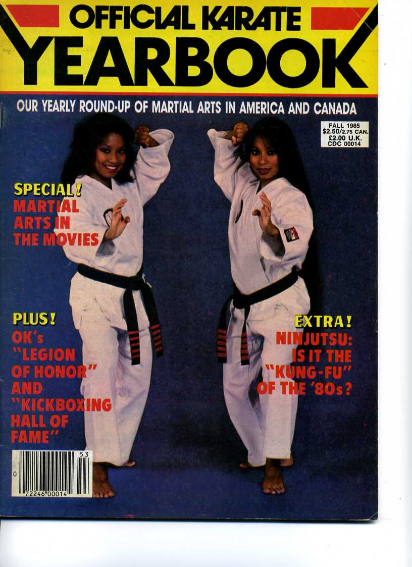 Fall 1985 Official Karate Yearbook