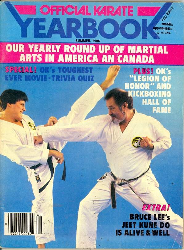 Summer 1986 Official Karate Yearbook