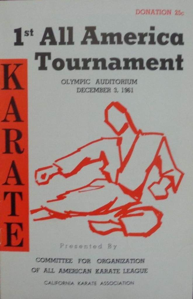 1961 All America Karate Program