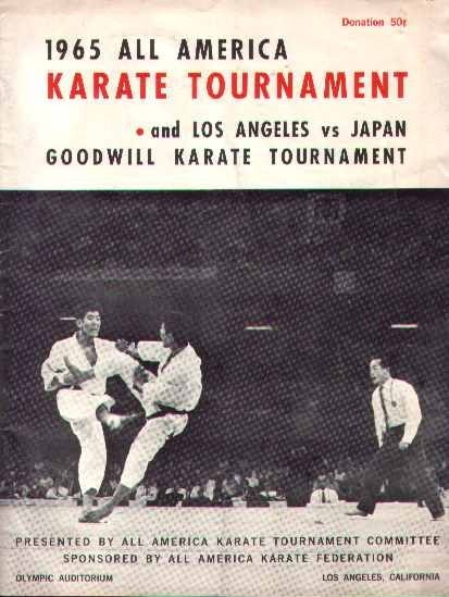 1965 All America Karate Program