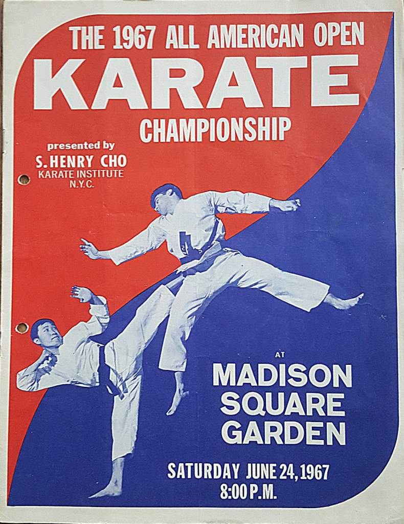 1967 All America Karate Program