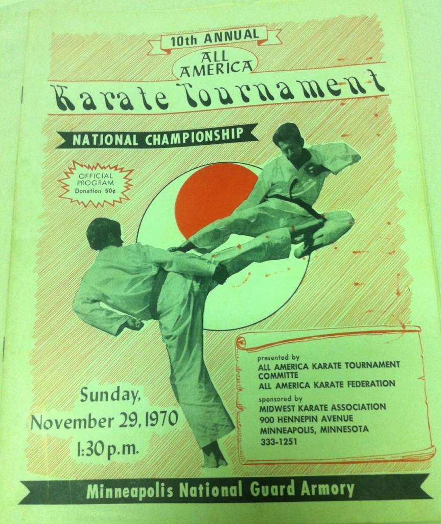 1970 All America Karate Program