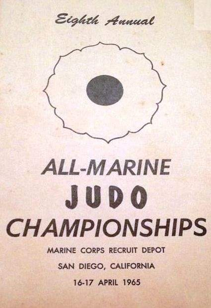 1965 All-Marine Judo Championships Program