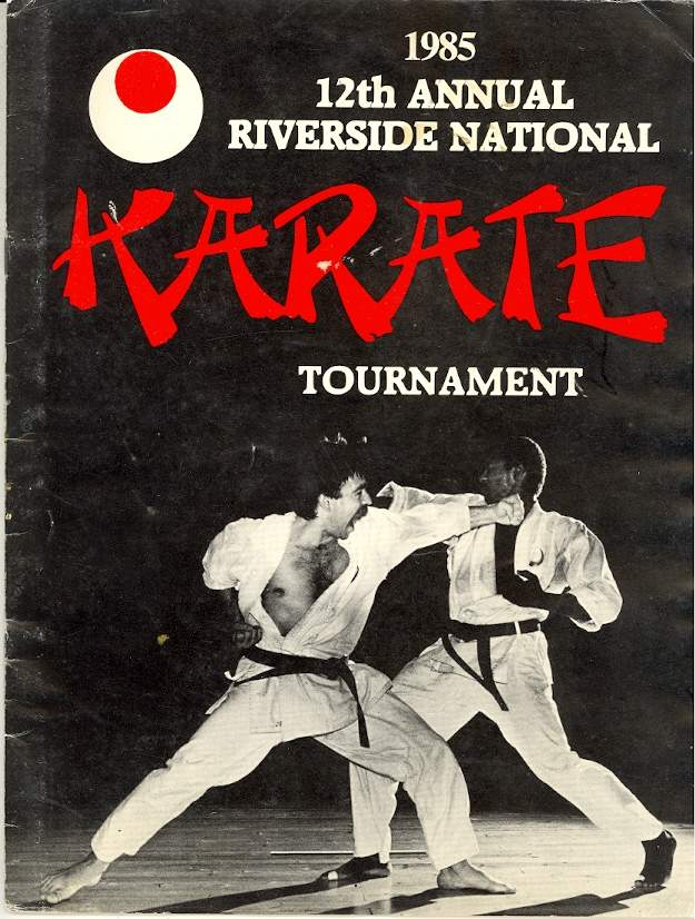 1985 12th Annual Riverside National Karate Tournament