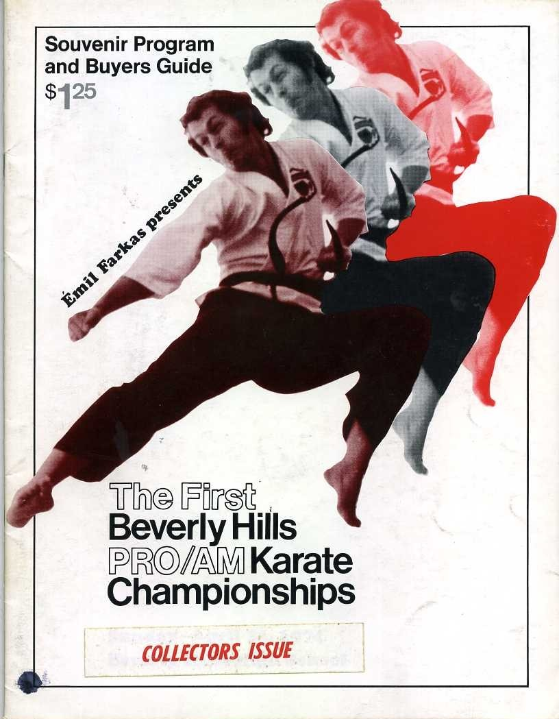 1974 Beverly Hills Karate Championships Program