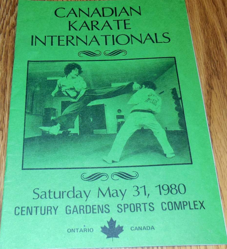 1980 Canadian Karate International Program