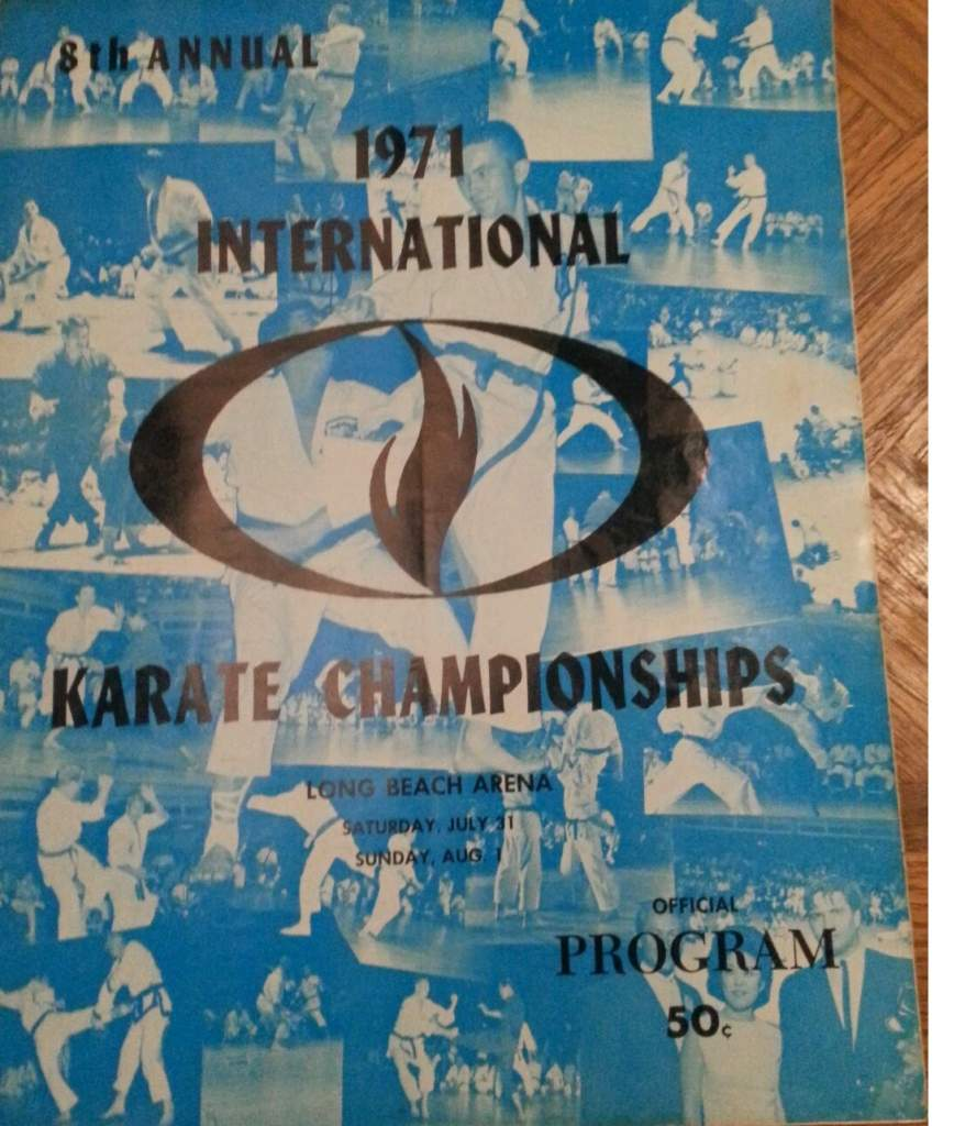 1971 Ed Parker International Karate Championships