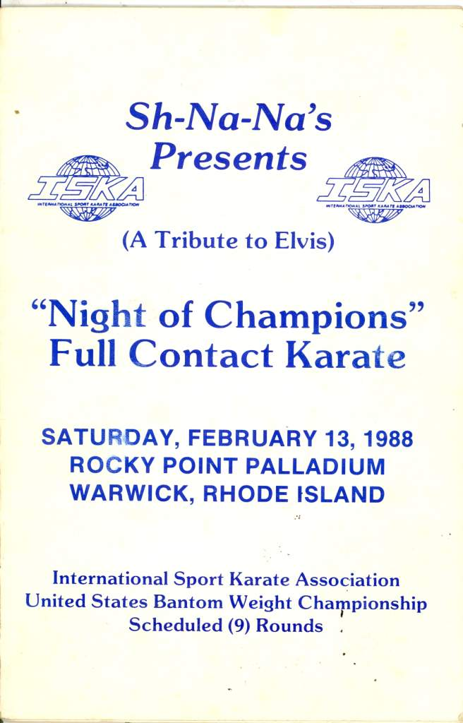 1988 Full Contact Karate Tournament