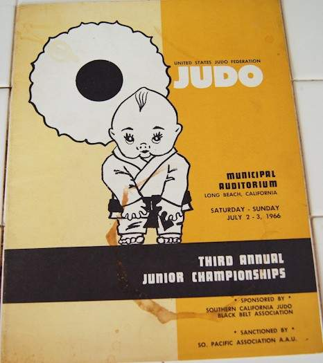 1966 Judo Junior Championships Program