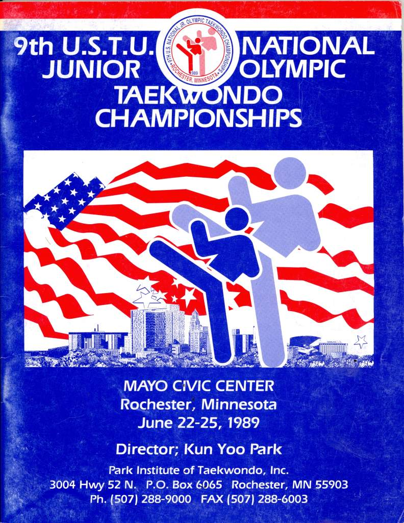 1989 U.S.T.U. National Junior Olympic Tae Kwon Do Champ