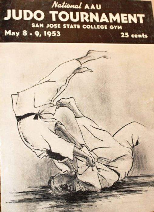 1953 National A.A.U. Judo Championships Program