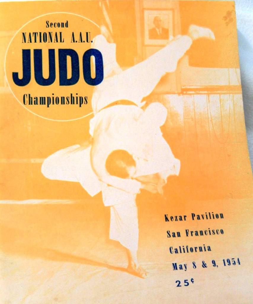 1954 National A.A.U. Judo Championships Program