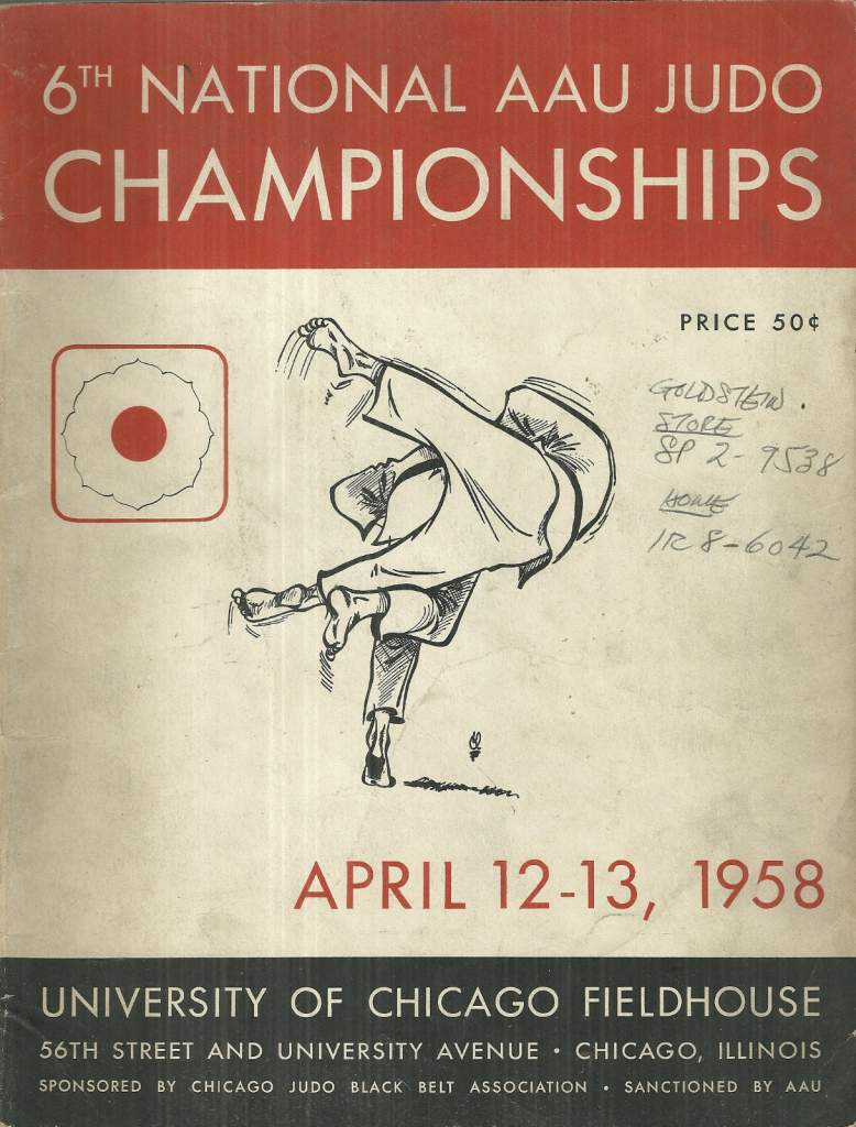 1958 National A.A.U. Judo Championships Program