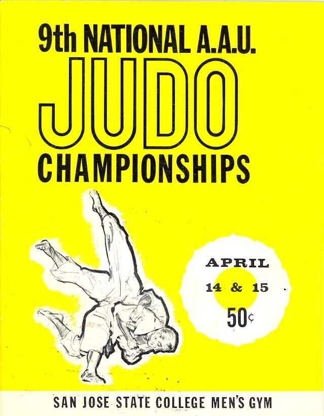 1961 National A.A.U. Judo Championships Program