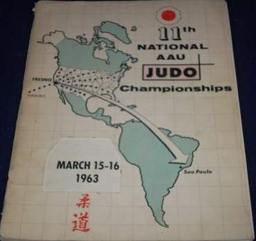 1963 National A.A.U. Judo Championships Program
