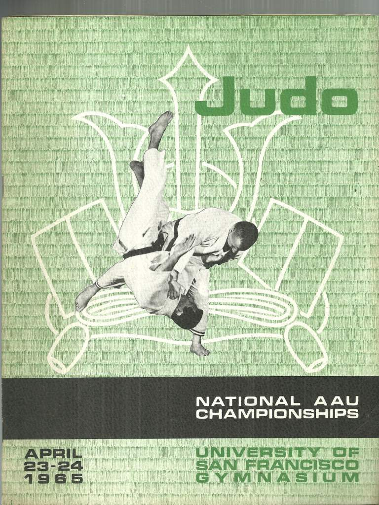 1965 National A.A.U. Judo Championships Program