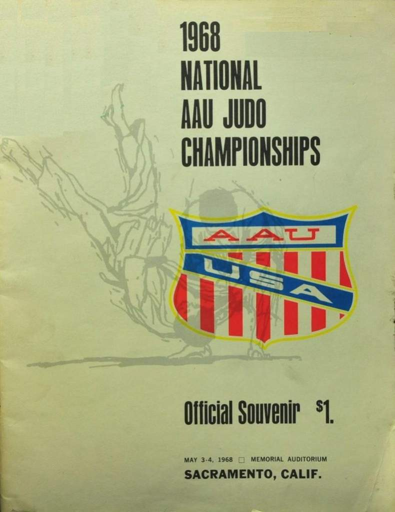 1968 National A.A.U. Judo Championships Program