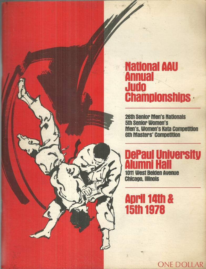 1978 National A.A.U. Judo Championships Program
