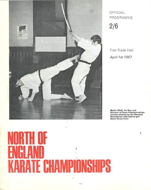 1967 North of England Karate Championships Program