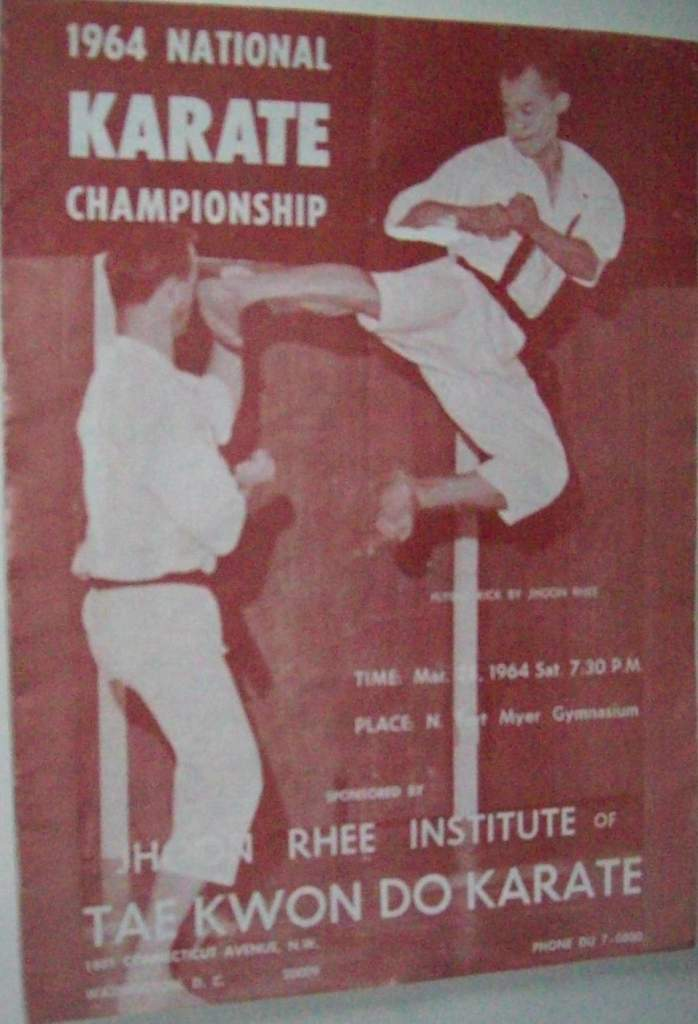 1964 National Karate Championship Program