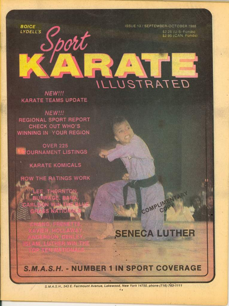 09/88 Sport Karate Illustrated