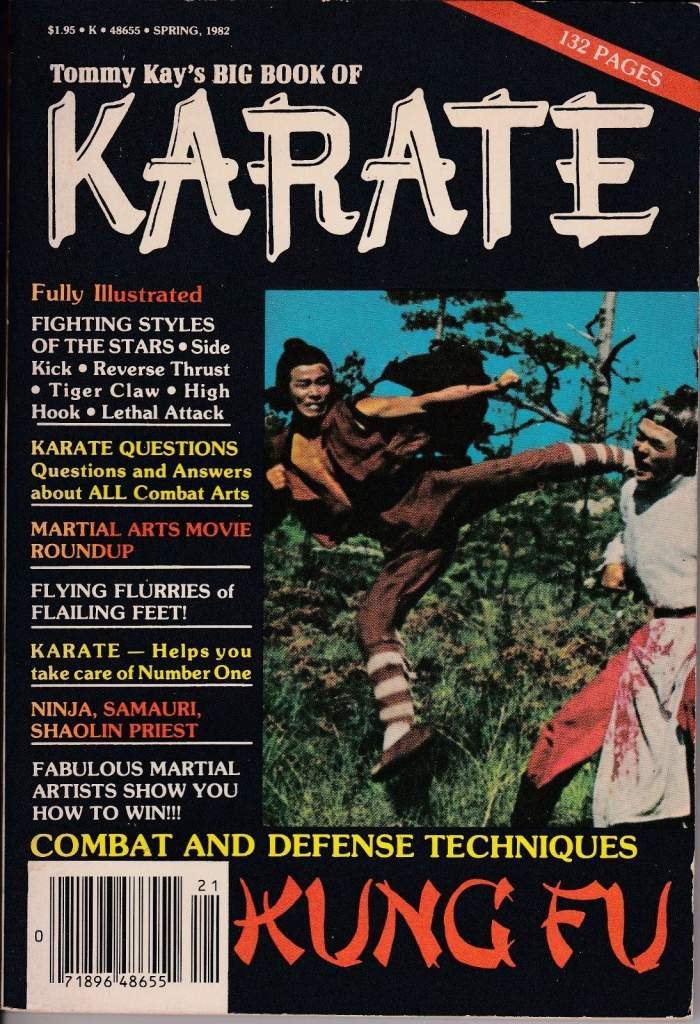 Spring 1982 Tommy Kay's Big Book of Karate