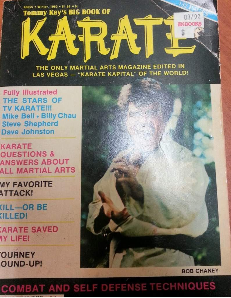Winter 1982 Tommy Kay's Big Book of Karate