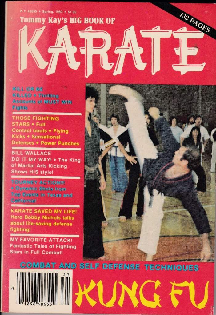 Spring 1983 Tommy Kay's Big Book of Karate