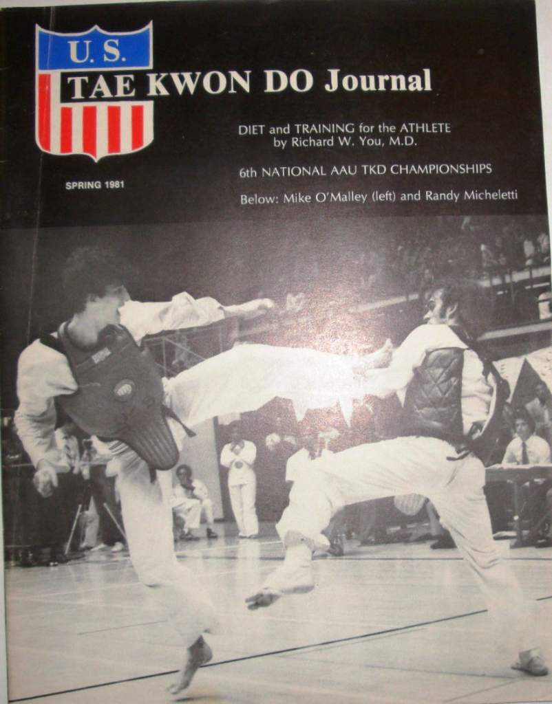 Spring 1981 U.S. Tae Kwon Do Journal