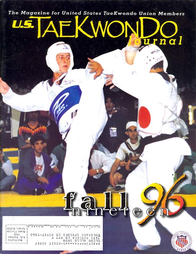 Fall 1996 U.S. Tae Kwon Do Journal