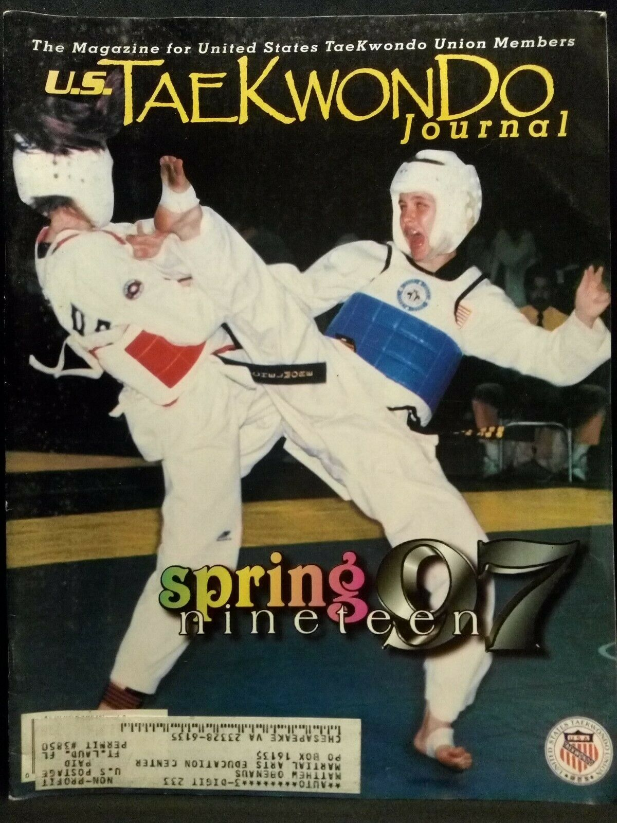 Spring 1997 U.S. Tae Kwon Do Journal
