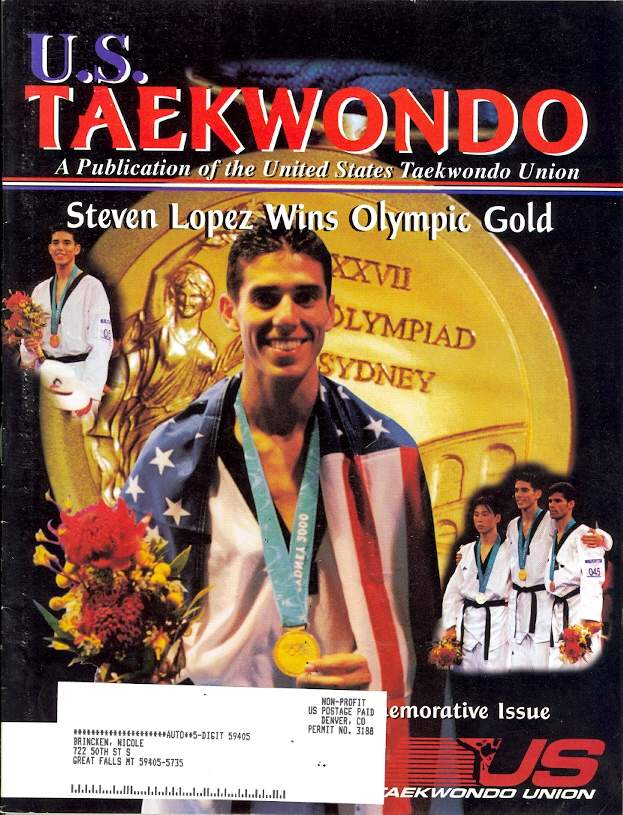 Fall 2000 U.S. Tae Kwon Do Journal