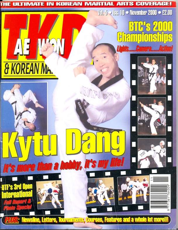 11/00 Tae Kwon Do & Korean Martial Arts