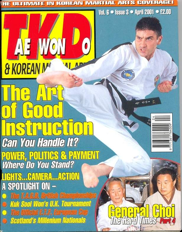 04/01 Tae Kwon Do & Korean Martial Arts