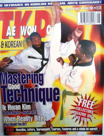 08/01 Tae Kwon Do & Korean Martial Arts