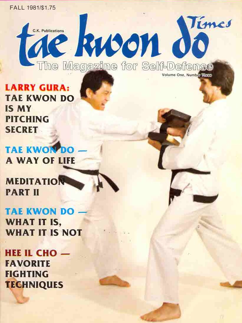 Fall 1981 Tae Kwon Do Times