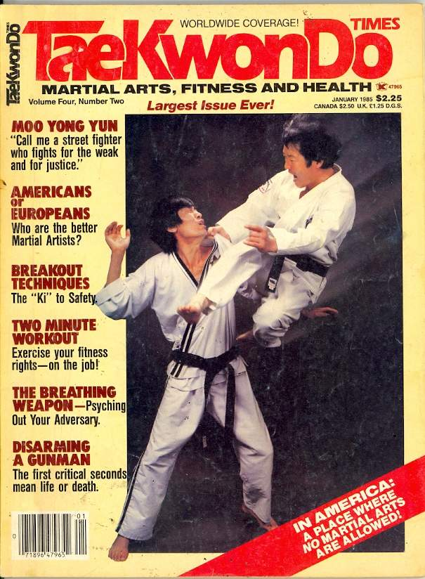 01/85 Tae Kwon Do Times
