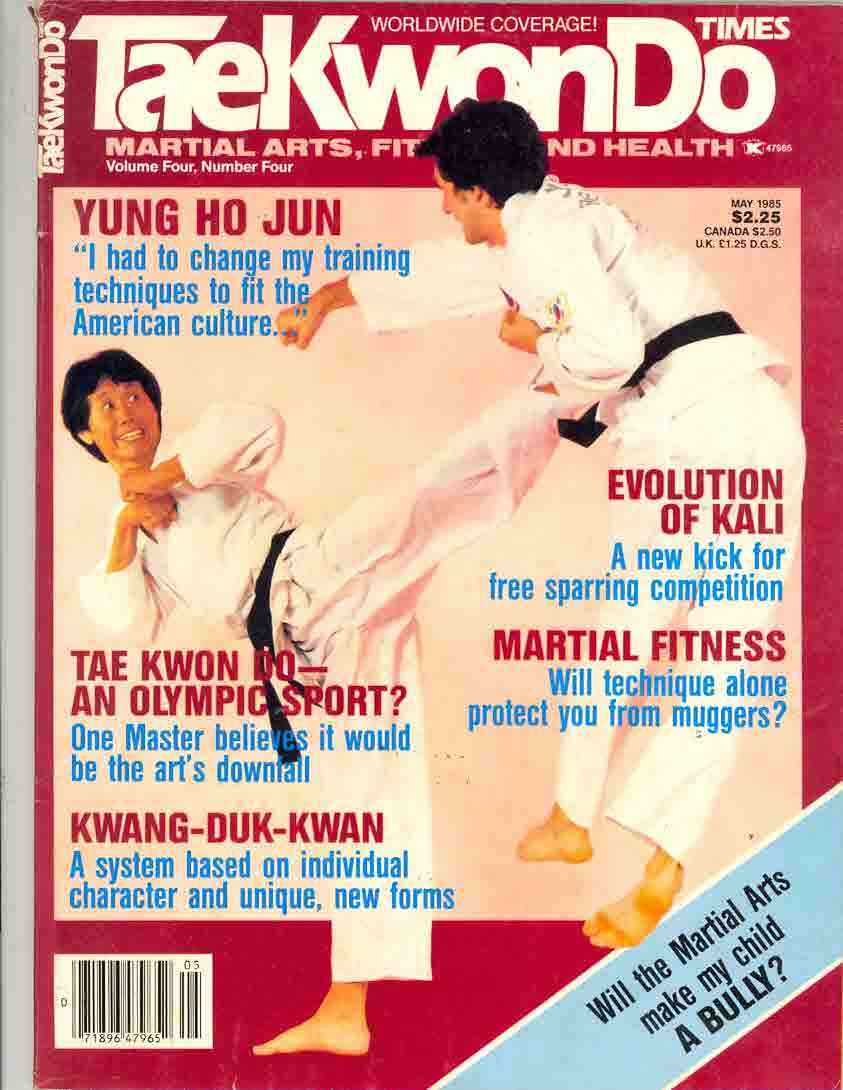 05/85 Tae Kwon Do Times