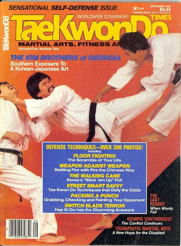09/85 Tae Kwon Do Times