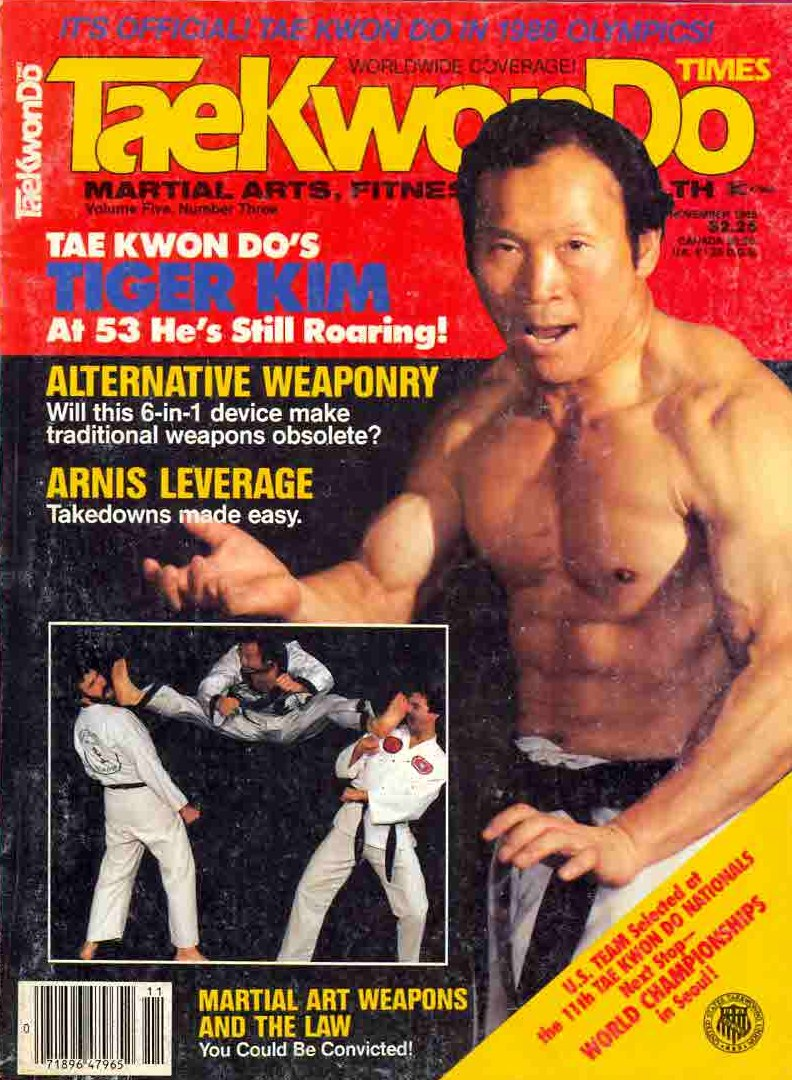 11/85 Tae Kwon Do Times