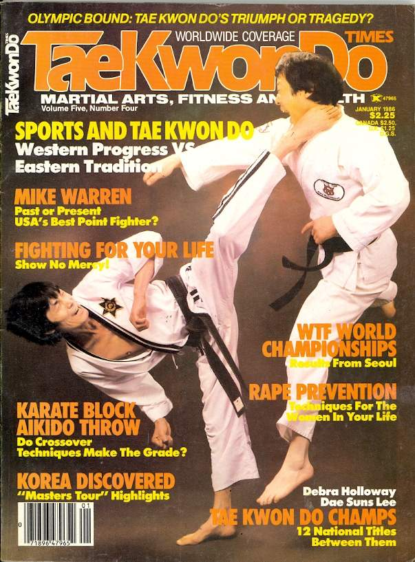 01/86 Tae Kwon Do Times