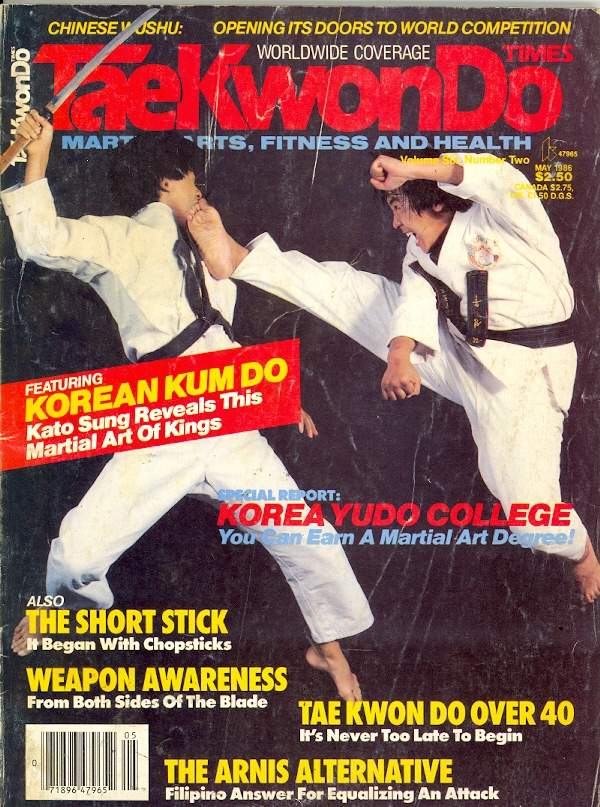 05/86 Tae Kwon Do Times