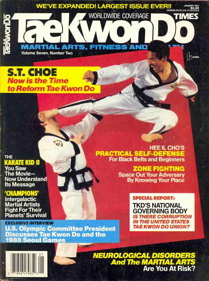 01/87 Tae Kwon Do Times