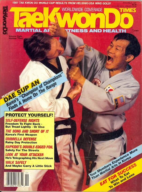 11/87 Tae Kwon Do Times