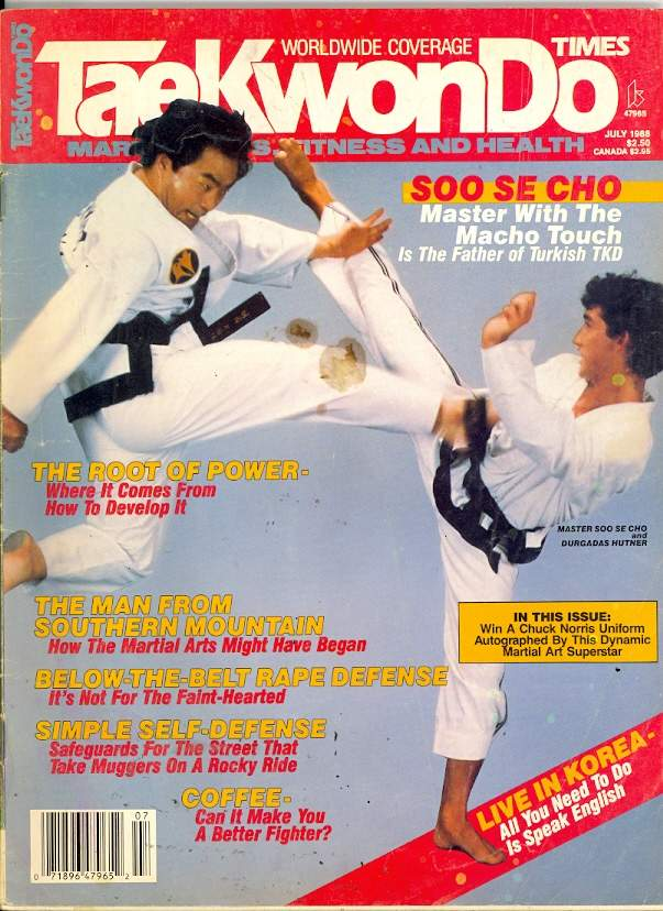 07/88 Tae Kwon Do Times