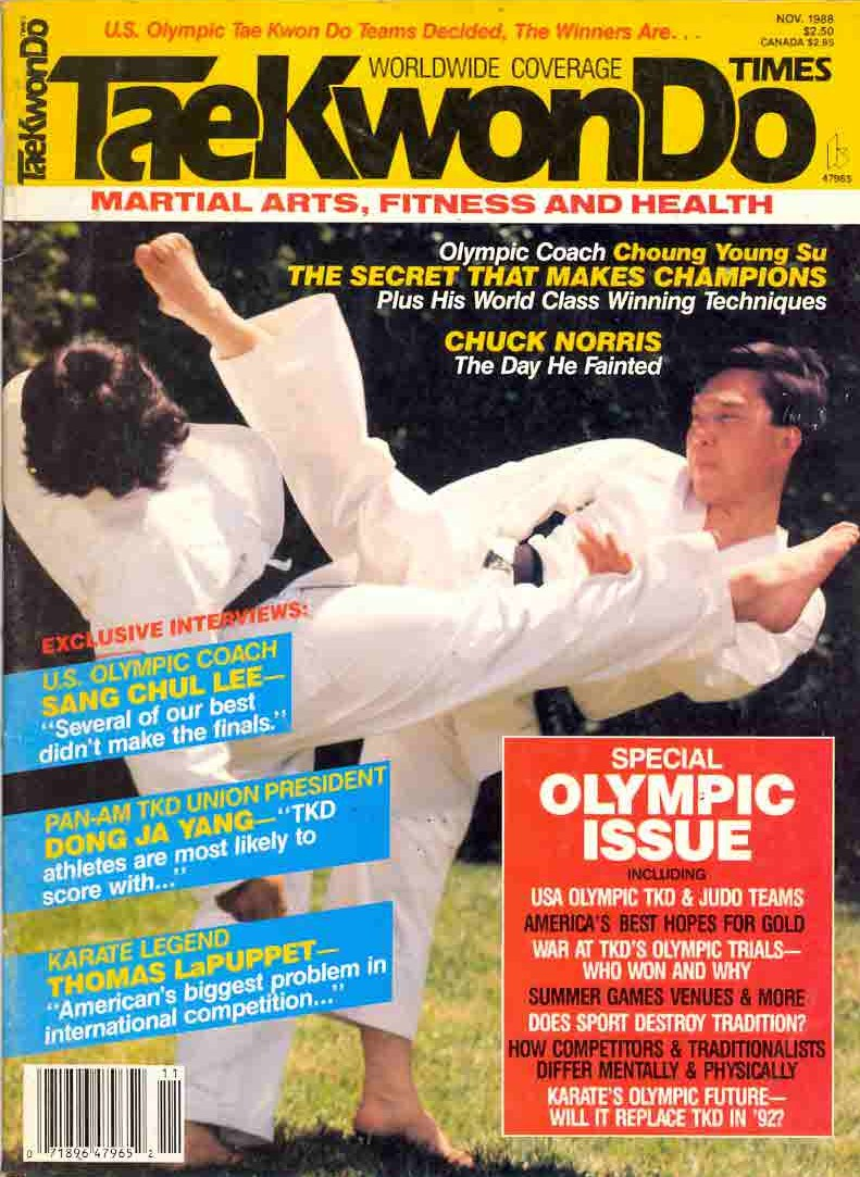 11/88 Tae Kwon Do Times