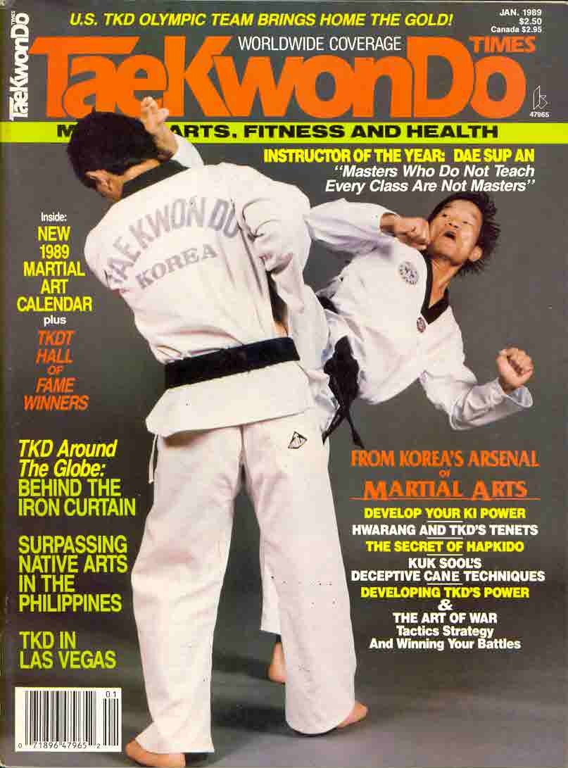 01/89 Tae Kwon Do Times